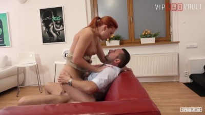 ExposedCasting - Big Tits Redhead Eva Berger Hot SEX at Casting VipSexVault