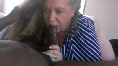 German Granny Workin Big Black Cock