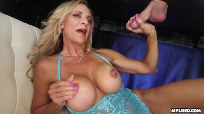 Big Boob Mature Handjob At Milking Table