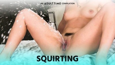 Hot Squirting Lesbians go Crazy