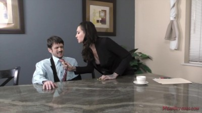 The Tall Secretary Seduced Her Boss