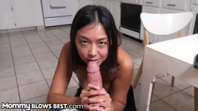 Mommy Blows Best Meeting My New Asian Step-Mom