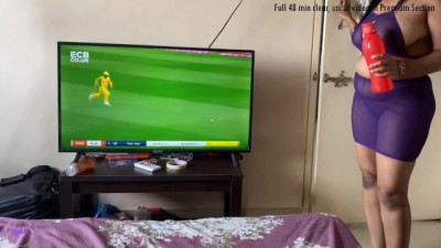 Indian Woman Made Her Boyfriend, Who Was Watching The Game, Swell - ishka s
