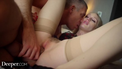 Young Man Who Fucks His Blond Model Girl Great